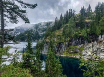 Deep in Washingtons Alpine Lakes Wilderness  hikedailyprn