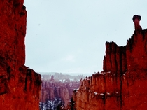 Deep reds of Bryce Canyon OC