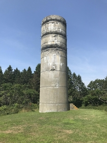 Defunct Observation Tower Built to Defend the Casco Bay in Maine during WWII  OC