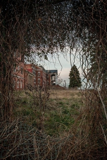 DeJarnette Center asylum for kids in Staunton VA Too expensive to rehab too expensive to tear down So there it sits