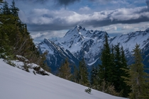 Del Campo Peak Cascade Range Washington
