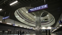 Delhi Metro Magenta Lines new airport station connecting Indira Gandhi Internationals Terminal-