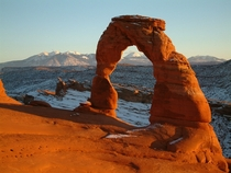 Delicate Arch Arches National Park in Utah