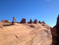 Delicate Arch at Arches National Park Utah