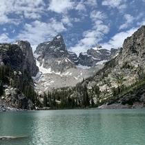 Delta Lake at Grand Teton National Park   x