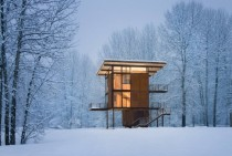 Delta Shelter by Olson Sundberg Kundig Allen Architects