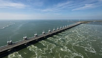 Delta Works Netherlands - the worlds biggest storm surge barrier
