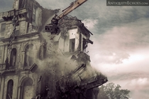 Demolition of Greystone Asylum
