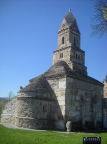 Densu Church Romania A rare example of a church having affinities towards both the Romanesque and Byzantine styles th century