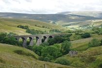 Dent Head Viaduct Yorkshire DalesUK