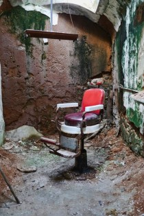Dentists Chair - Eastern State Penitentiary Philadelphia PA