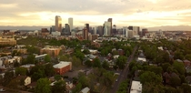 Denver Evening Skyline
