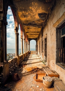 Derelict Beirut by photographer james kerwin