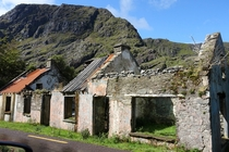 Derelict cottage Gap of Dunloe Ireland