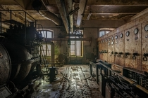 Derelict factory  by kiekmal