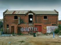 Derelict machining shop in North Melbourne Australia
