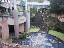 Derelict Mall Overrun by Jungle on Saipan CNMI  Album Inside