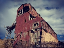 Derelict Mining Operation in the Rockies