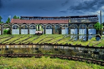 Derelict Train Roundhouse in Armenia Photo by Edgar Varjapetyan