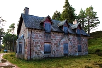 Derry Lodge in Aberdeenshire Scotland