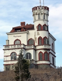 Dervinova vila - landmark of a small town Knjaevac Serbia