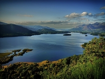 Derwent Water Lake District National Park UK one of my favourite bodies of water in England