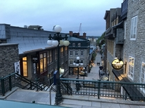 Deserted Quebec City