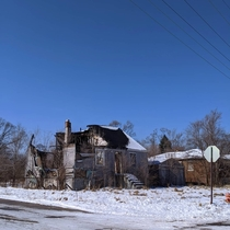 Desolate block of Gary Indiana