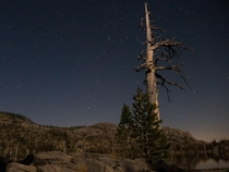 Desolation Wilderness CA at night