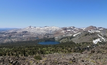 Desolation Wilderness from the top of Mt Tallac