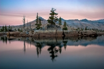 Desolation Wilderness - Lake Aloha Sunrise