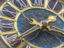 Detail Tiffany Clock Grand Central Station NY NYx