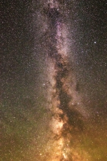 Detailed Milky Way from Colorado