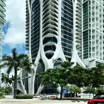 Details of One Thousand Museum in Miami FL- Zaha Hadid Architects