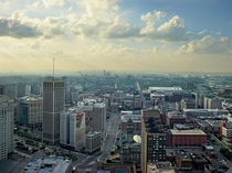 Detroit from GM Headquarters Photo by Andrew Moore