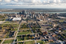 Detroit from the airroom to grow
