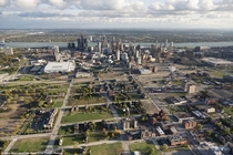 Detroit is slowly becoming an urban island yet its larger footprint remains
