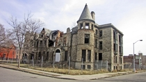 Detroit Michigan James Scott Castle Residence by Ren Farley