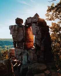 Devils Doorway at Devils Lake State Park Baraboo WI