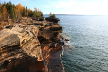 Devils Island On Lake Superior in Wisconsin