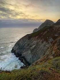 Devils Slide Lookout by Pacifica CA
