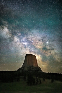 Devils Tower National Monument WY  milesformoments