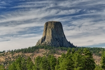 Devils Tower  photo by Mike Robinson