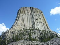 Devils Tower WY from my cross country drive with my brother