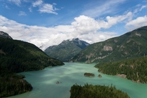 Diablo Lake in the North Cascades WA