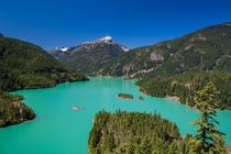 Diablo Lake North Cascades National Park Washington