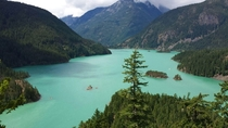 Diablo Lake - North Cascades Washington