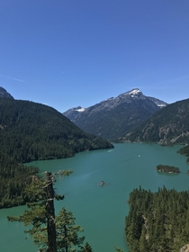 Diablo Lake Overlook in North Cascades WA
