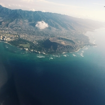 Diamond Head Crater - Oahu Hawaii -