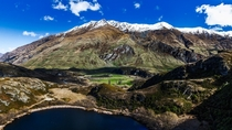 Diamond Lake and End Peak Wanaka New Zealand
